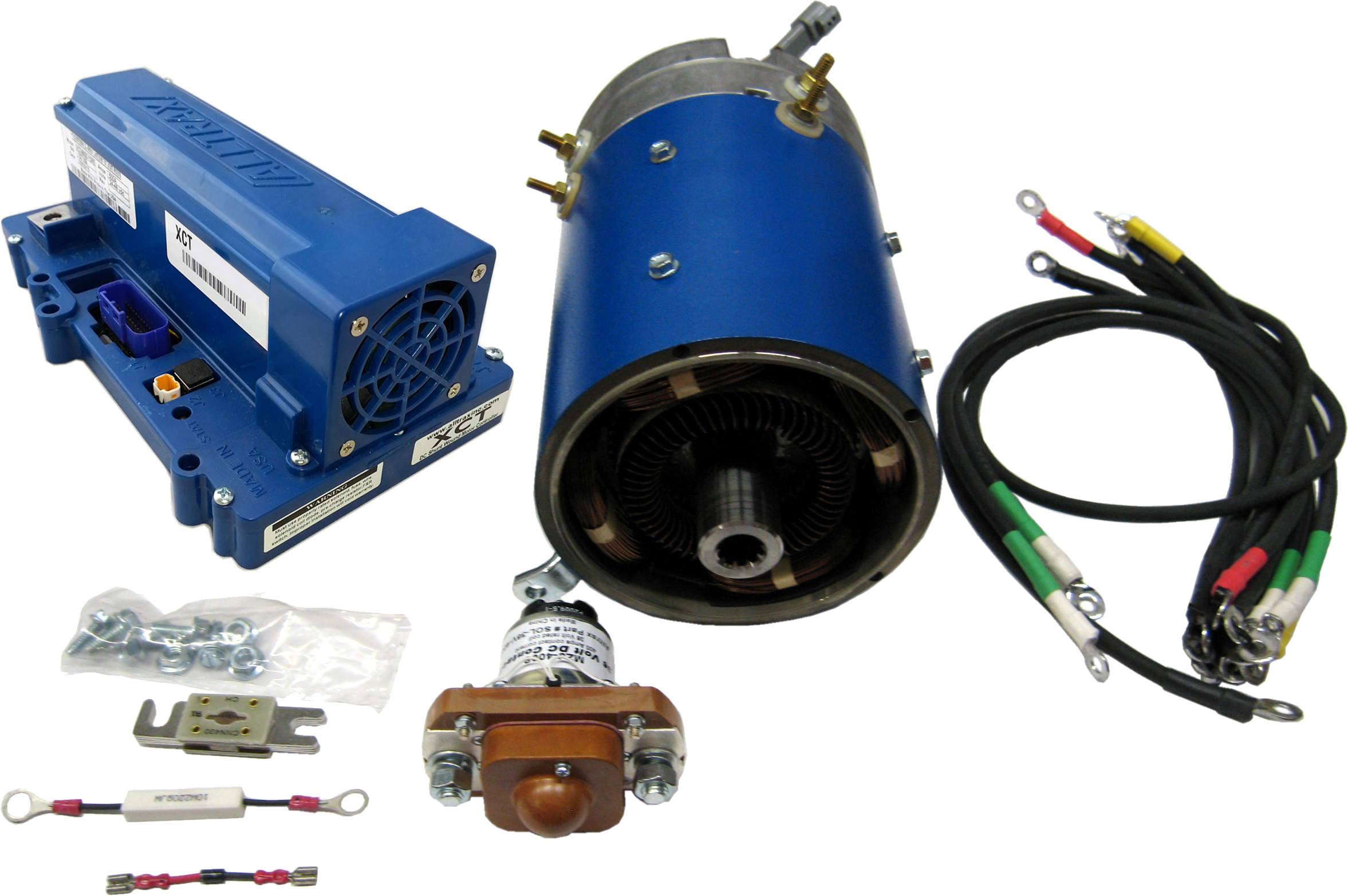 Club Car Electric Motor Golf Cart Upgrades-High Speed Precedent & IQ - Last  Motors Made In USA - New Used & Rebuilt Parts - D&D Motor Systems