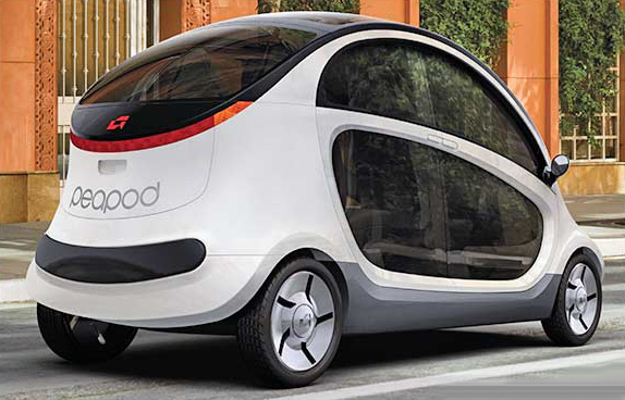 GEM peapod electric cars
