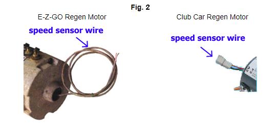 if your motor has a speed sensor wire, its a regen motor