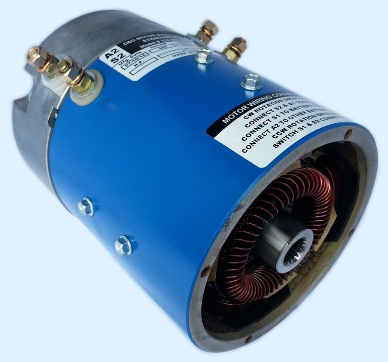 612624 Replacement Motor