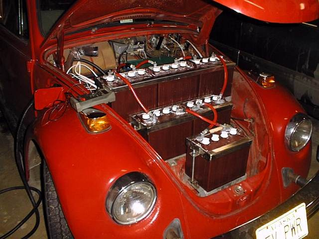 electric volkswagon beetle