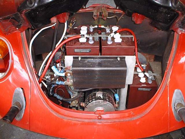 vw beetle electric conversion