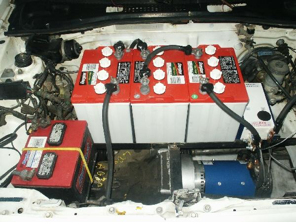 Electric Conversion For Car Honda Dc Ed