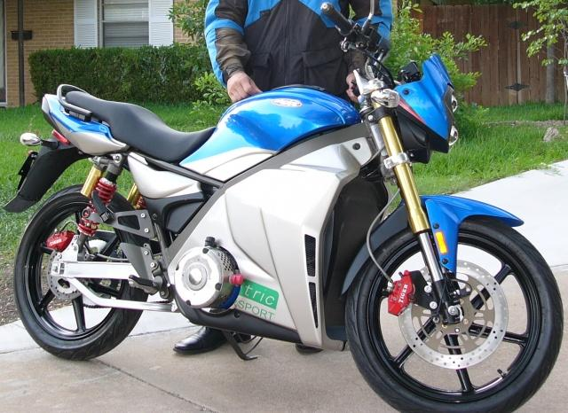 Motorcycle Conversion To Electric Motor For Electric