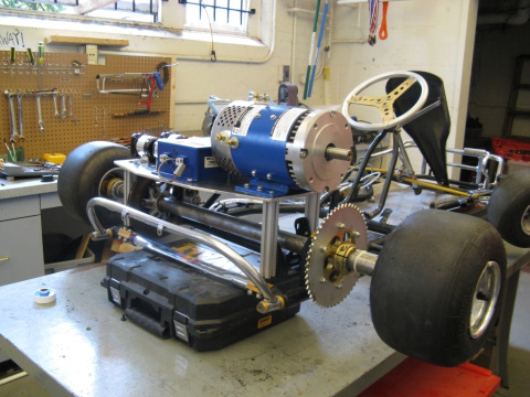 high speed electric go kart MIT