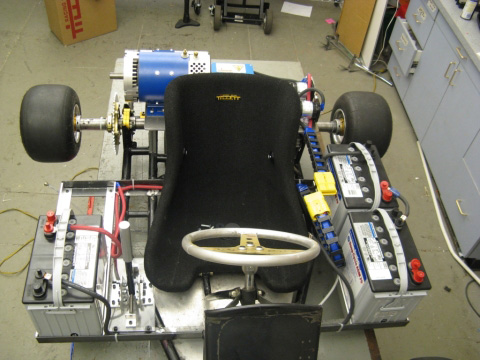 MIT electric racing go kart