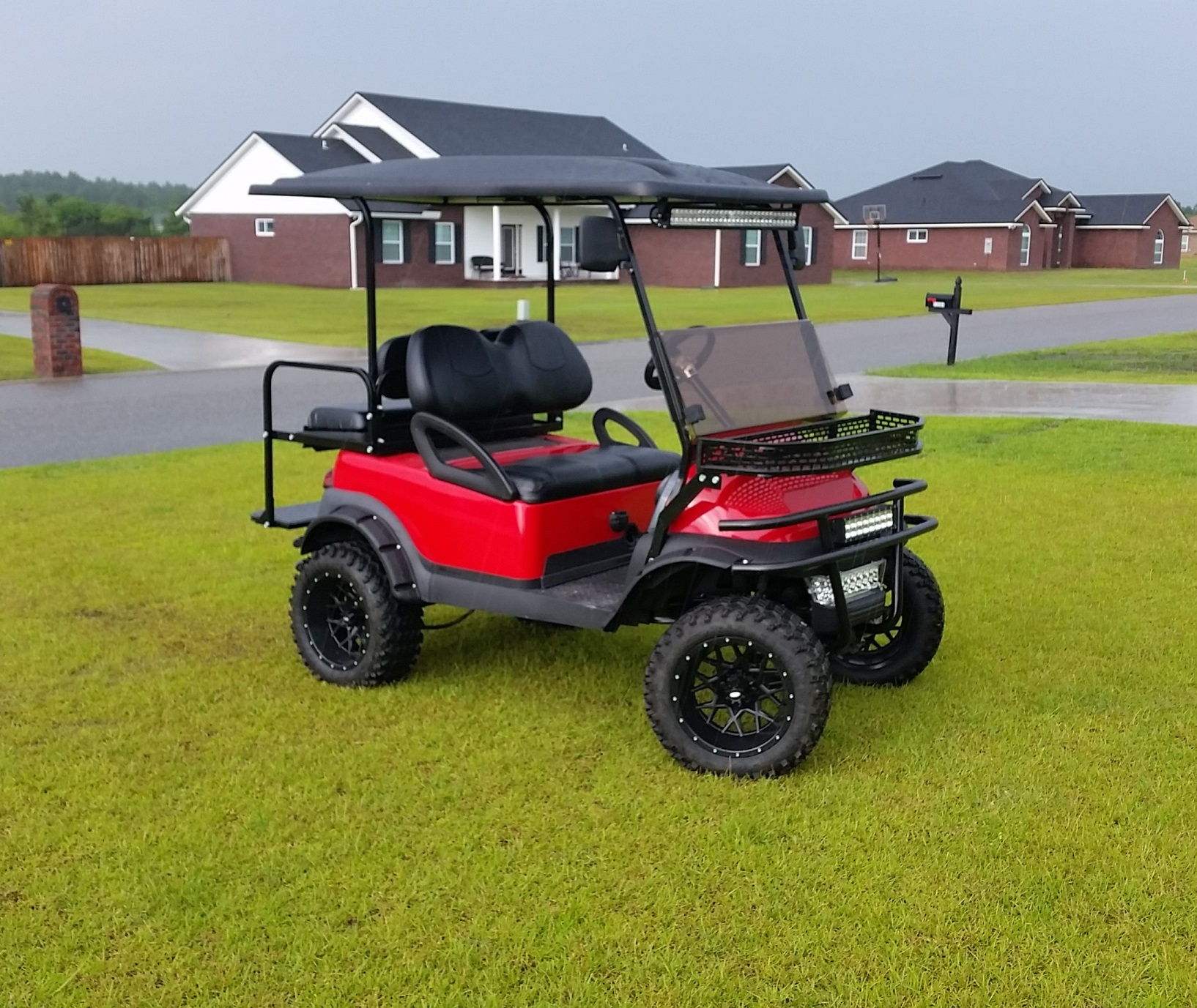 Golf Cart - Neighborhood Setting