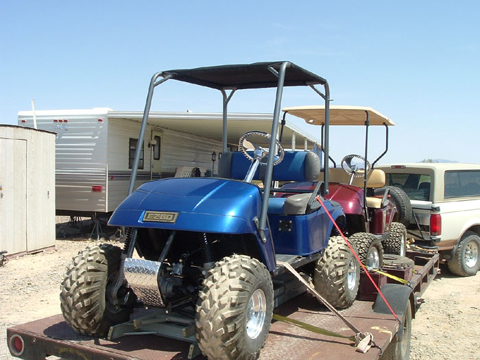 4 wheel drive golf cart conversion