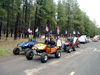 Off road electric golf carts
