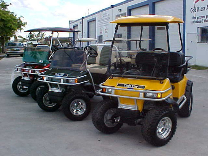 club car electric motors