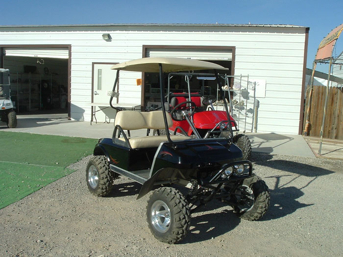 high speed golf cart motor