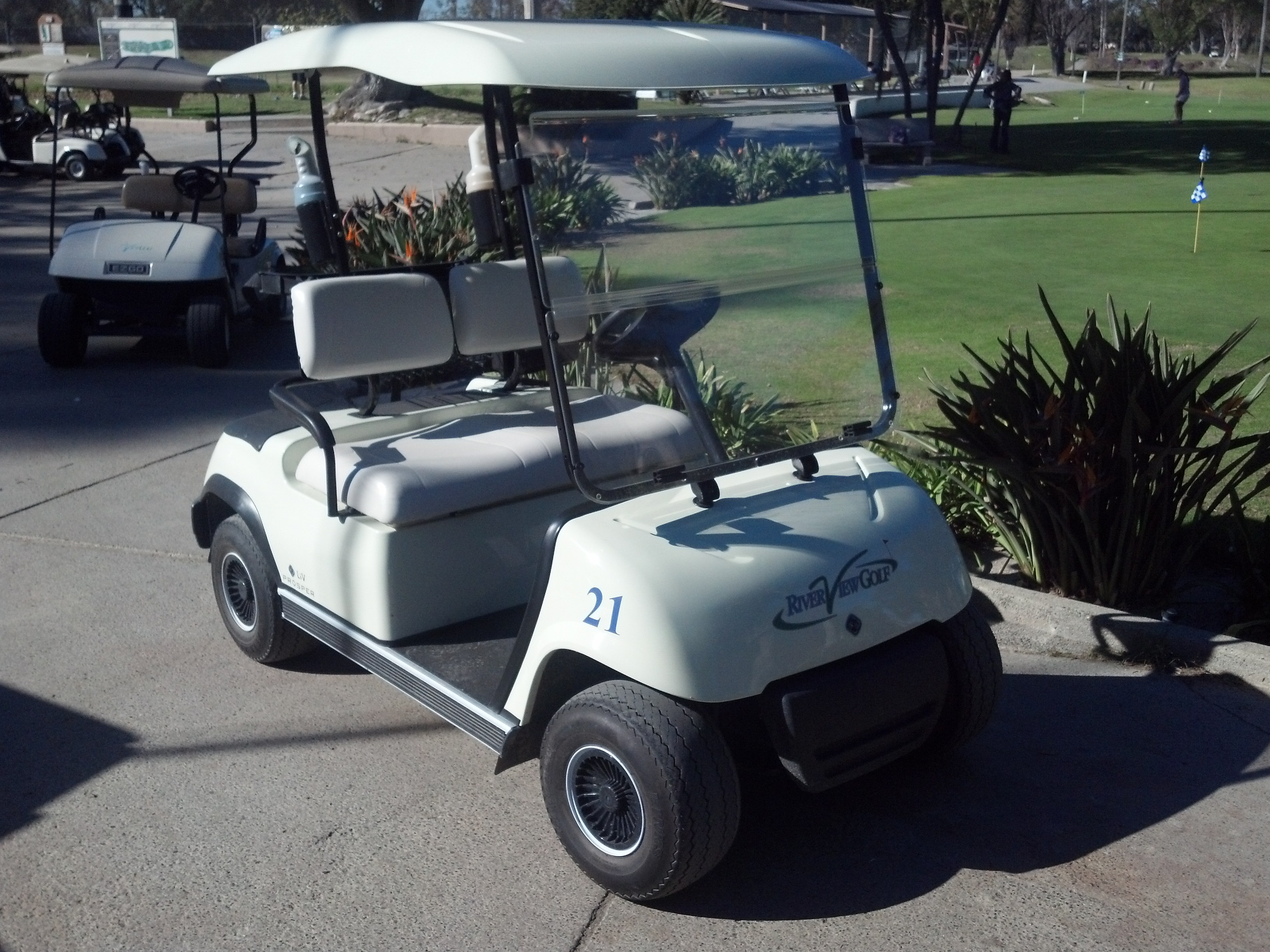 LIV Golf Cars