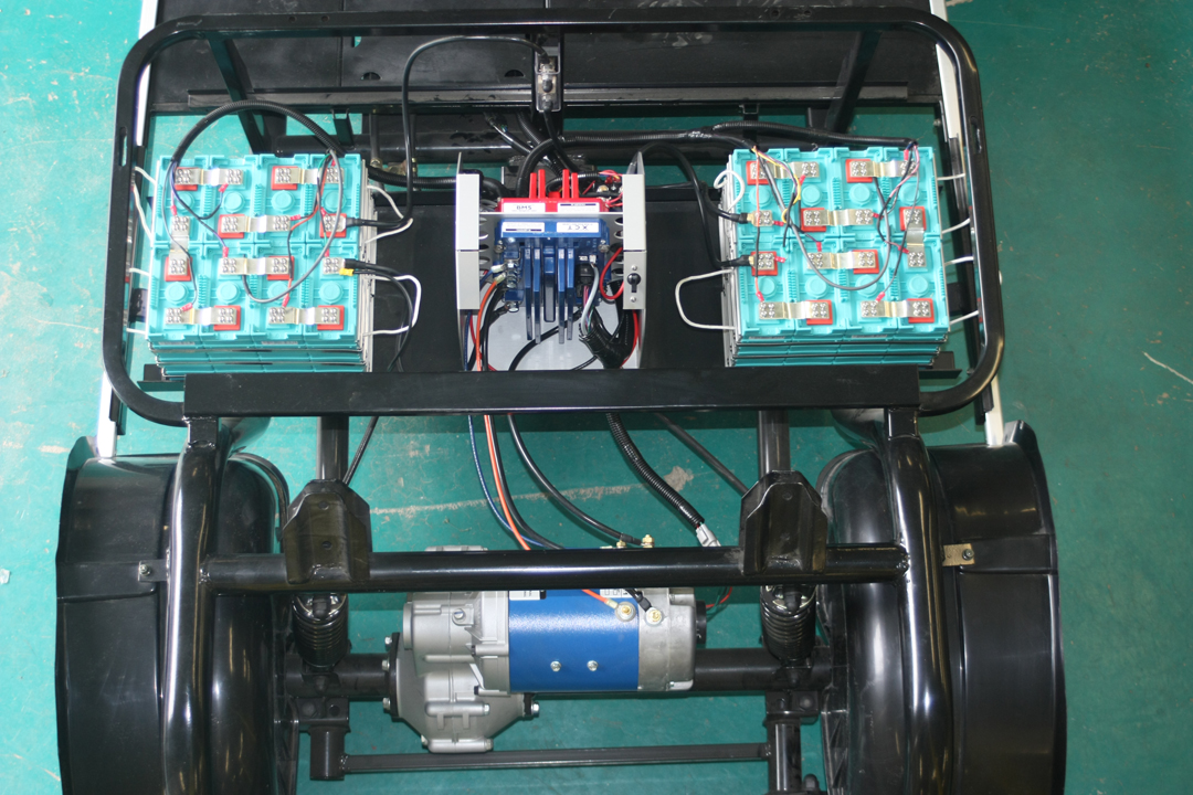 LIV Golf Cars - Blue Motor Picture 2