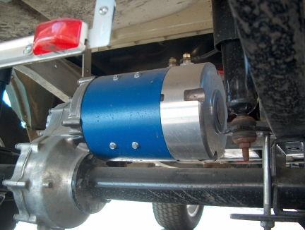 club car golf cart motor
