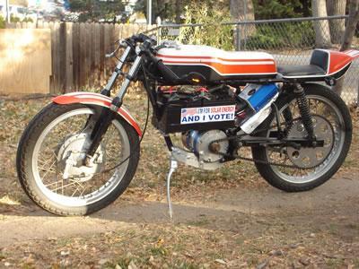 1974 Yamaha TA-125