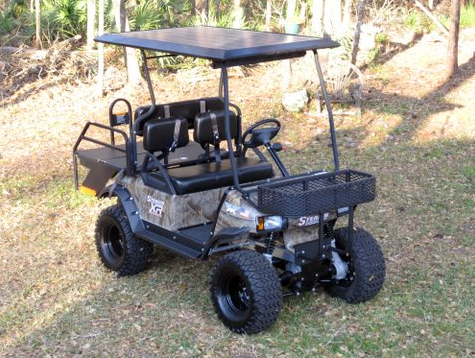 Stealth 4x4 electric golf cart