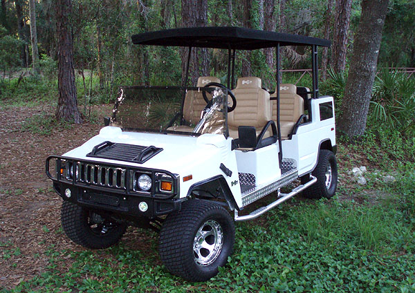 Golf Cart - Hummer Girls